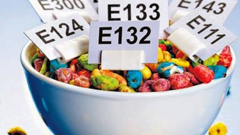 Food additives and E numbers