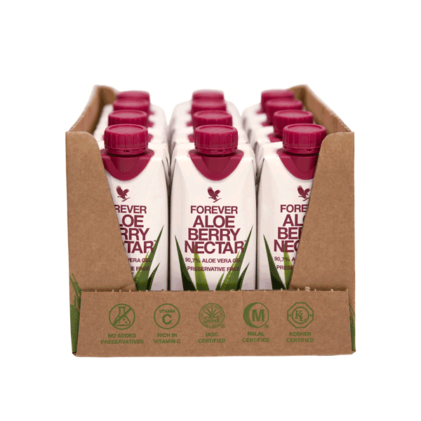 Forever Aloe Berry Nectar™ 12×330 ml